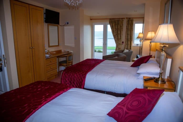 Bedrooms at Coastline House
