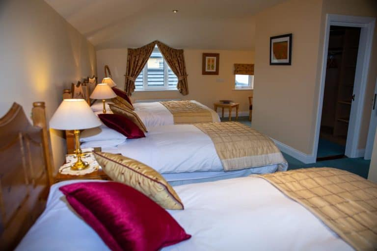 Bedrooms at Coastline House