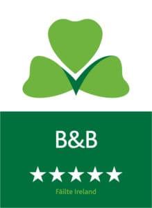 Failte Ireland 5 Star Approved B&B